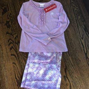 Girls Medium American girl Longsleeve pajamas NWT